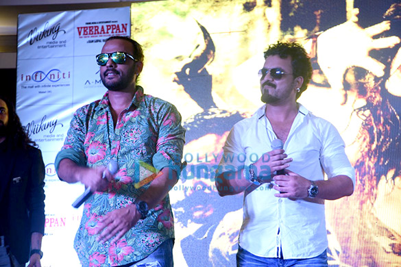 Launch of song 'Khallas' from the film Veerappan