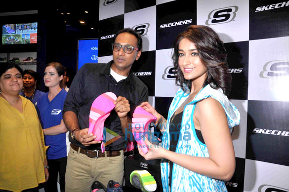 Ileana DCruz launches Skechers India's new collection