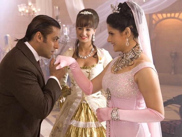 Movie Still From The Film Veer,Salman Khan,Zarine Khan