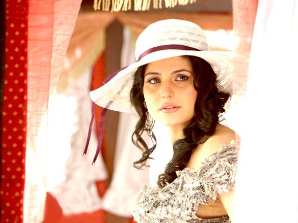 Movie Still From The Film Veer,Zarine Khan