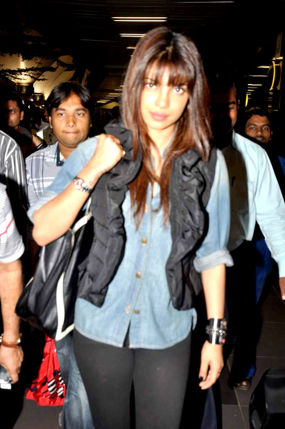 Priyanka Chopra and others snapped at the Airport