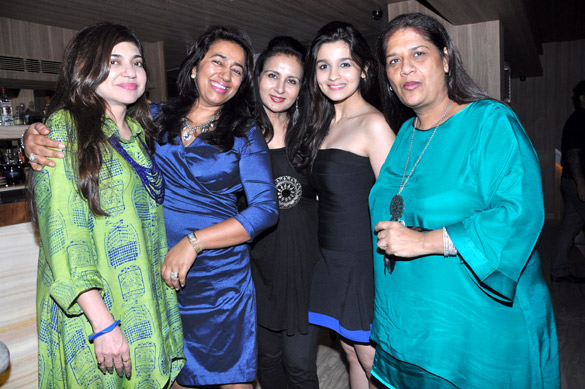 Mohini hosts birthday party for Anu Ranjan