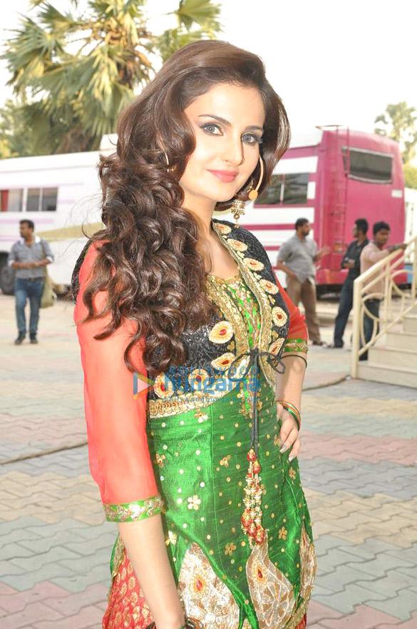 Star Plus' dandia shoot