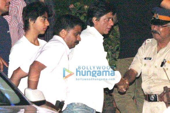 Celebs pay visit to Yash Chopra at Lilavati Hospital