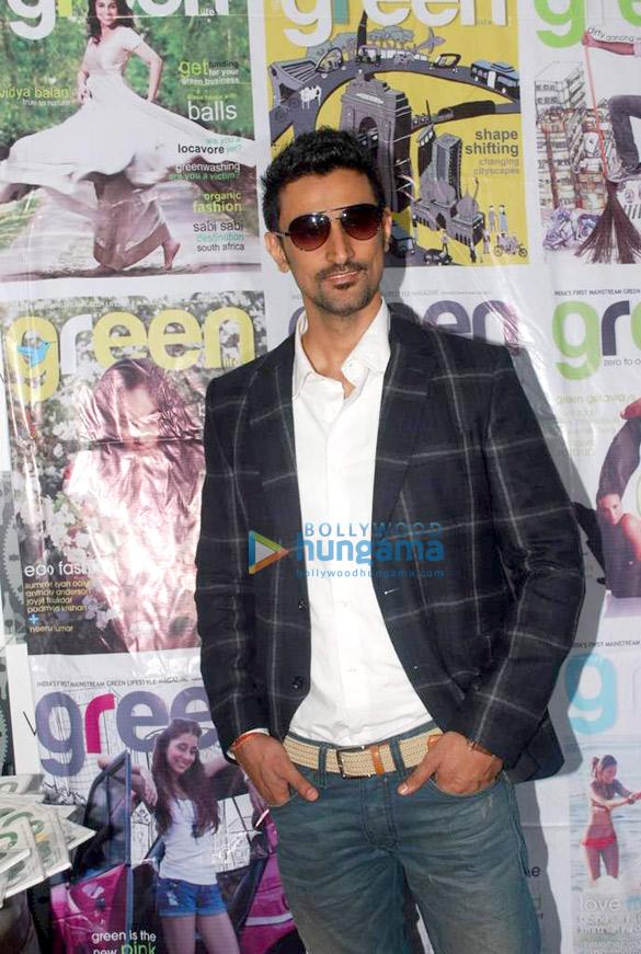 Kunal Kapoor at Green Life magazine launch