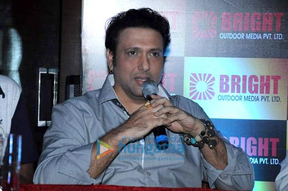 Govinda & Narmmadaa at Bright Advertising Awards announcement