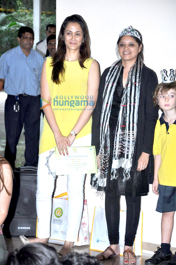 Gayatri Joshi at Oberoi International School event