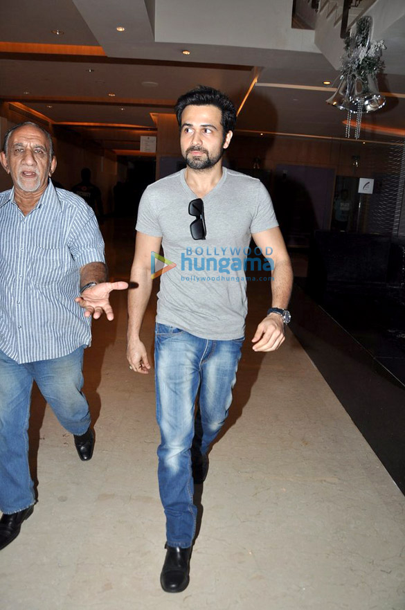 Emraan Hashmi snapped at Novotel