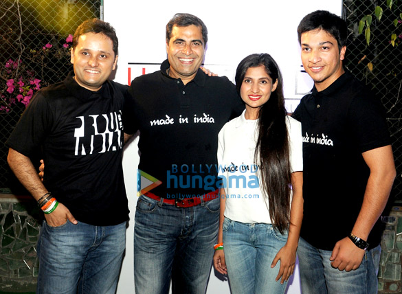 Shailendra Singh launches the 'Made In India' project