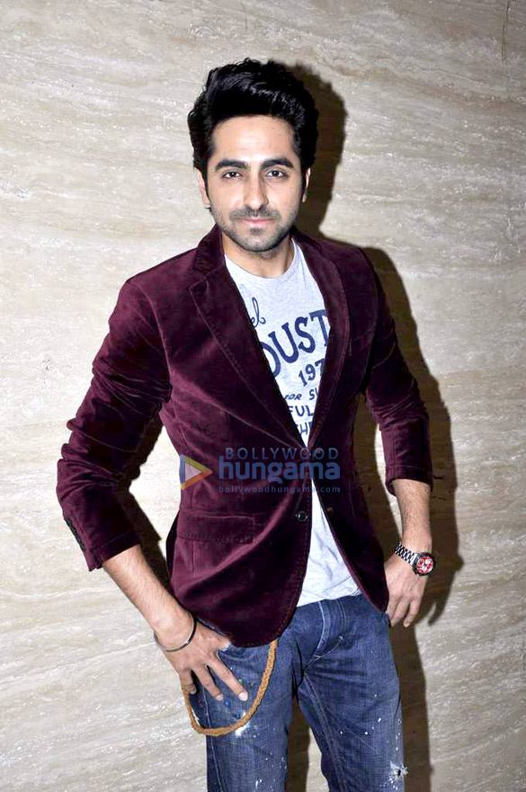 Ayushmann Khurrana judges Miss Maxim at F Bar