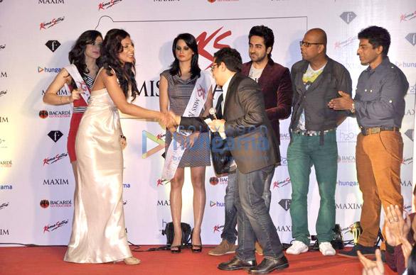 Ayushmann Khurrana judges Miss Maxim at F Bar