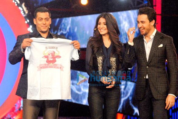 Salman, Imran and Anushka on 'Bigg Boss 6'