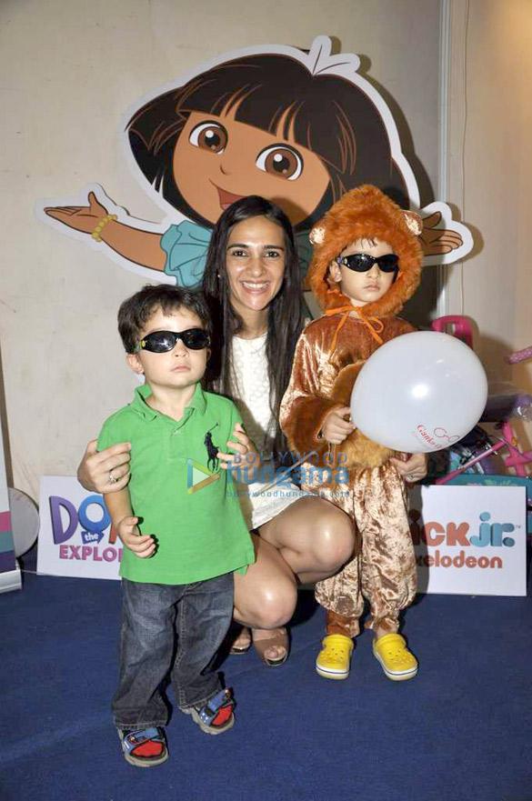 Tara Sharma inaugurates 'Kidtown Fair' exhibition