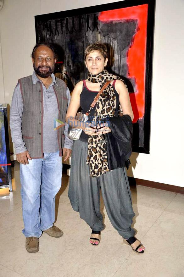 Celebs at Jaya Lamba's art event