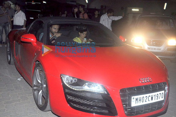 Saif Ali Khan snapped with his new Audi R8