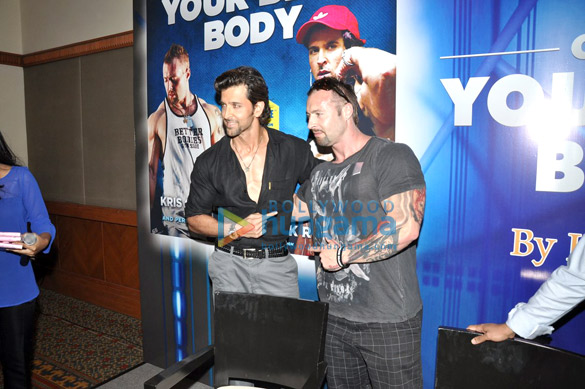 Hrithik Roshan unveils Kris Gethin's book 'Guide To Your Best Body'