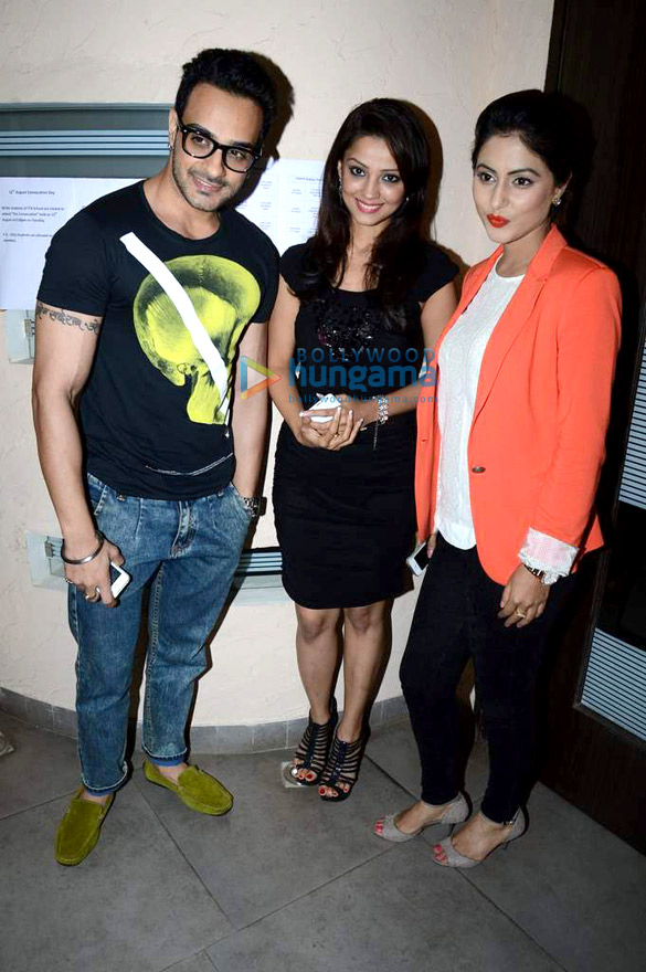 TV stars grace the press meet of The ITA School Of Performing Arts