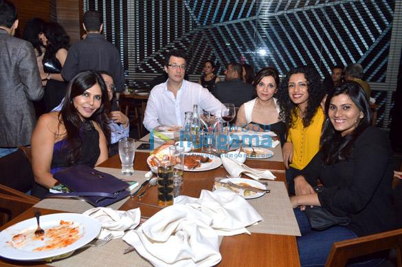 Celebs grace the launch of 'Auriga' restaurant
