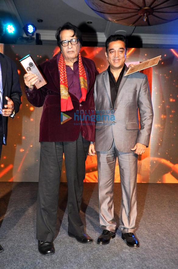 Kamal Haasan, Manoj Kumar & Kangna at 4th Jagran Film Festival