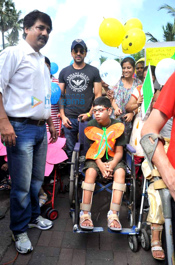Ayushmann at World Cerebral Palsy Day