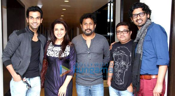 Raj Kumar Yadav, Tisca Chopra, Shoojit Sircar, Ravi Jadhav, Niranjan Iyengar