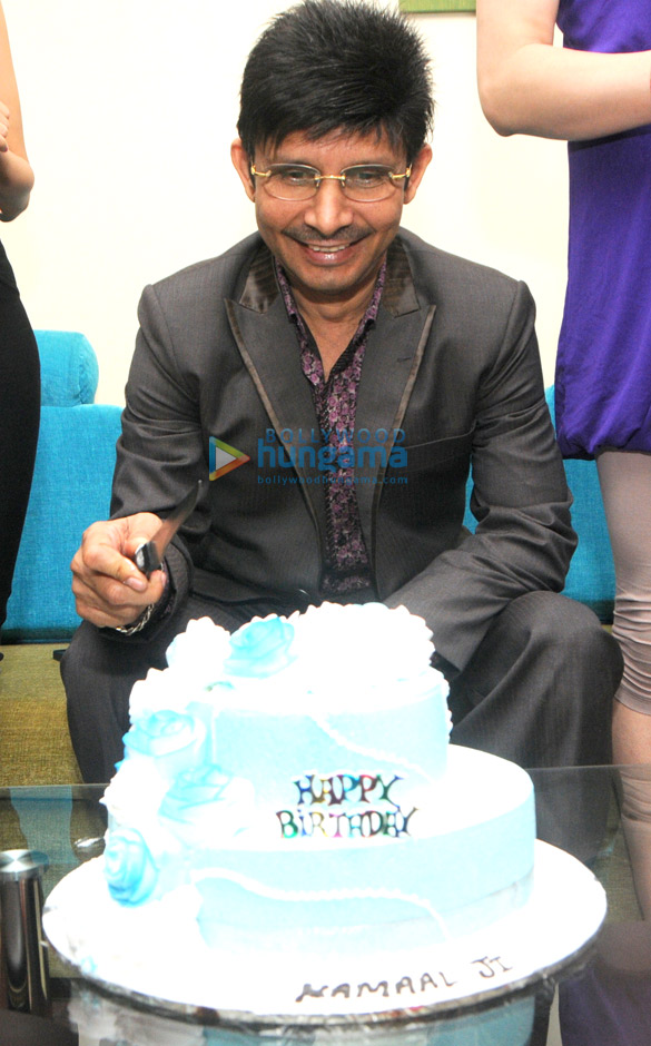 Kamaal Rashid Khan's birthday bash