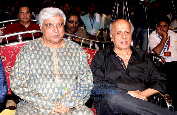 Javed Akhtar & Mahesh Bhatt inaugurate All India Film Employees Confederation