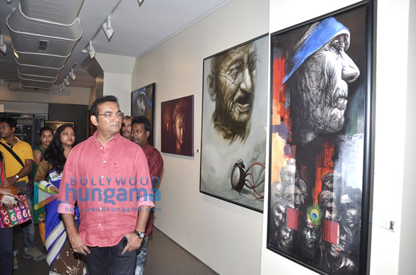 Celebs at Palash Halder's art exhibition