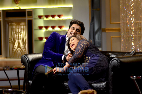 Abhishek Bachchan & Farah Khan on 'Koffee With Karan Season 4'