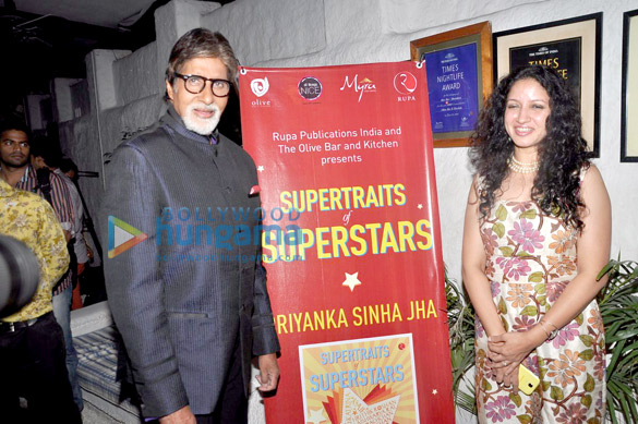 Big B unveils Priyanka Sinha Jha's book 'Supertraits of Superstars'