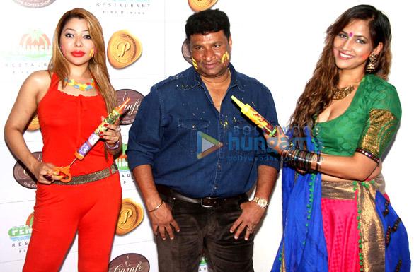 Laila Khan, Satish Shetty, Tanisha Singh