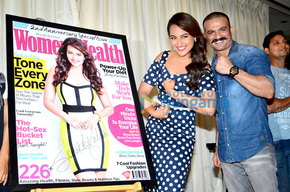 Sonakshi & Manisha launch Women's Health & Prevention's latest issue