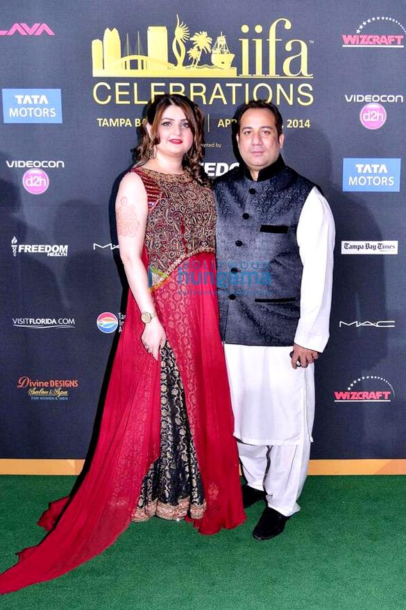 IIFA Awards 2014 | Nida Rahat, Rahat Fateh Ali Khan Images - Bollywood Hungama