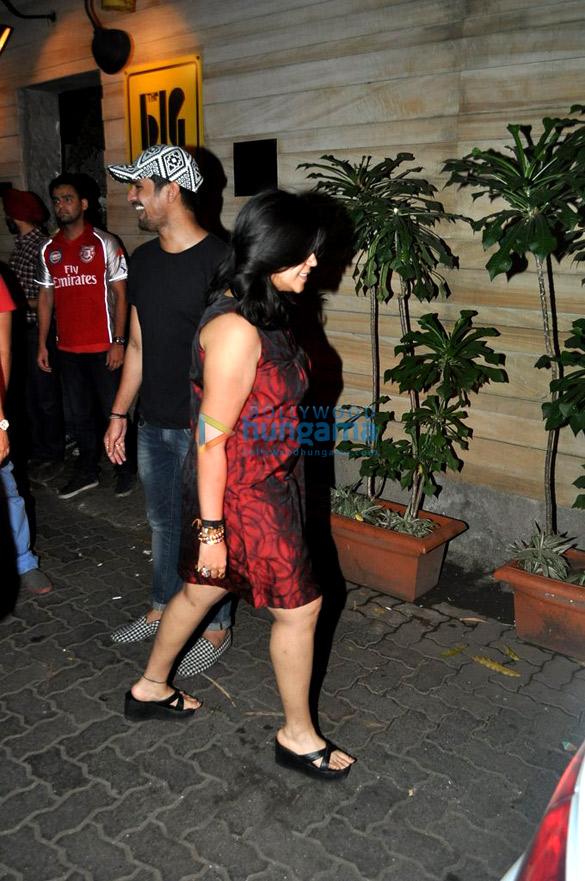 Ekta Kapoor snapped in Bandra