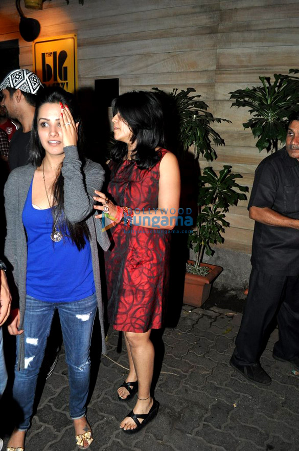 Ekta Kapoor snapped in Bandra