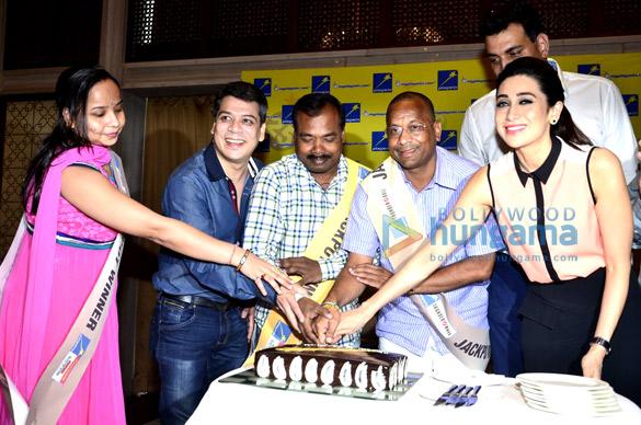 Karisma Kapoor at the launch of 'Playwin'