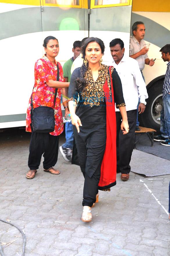Vidya Balan & Randeep Hooda snapped at Mehboob Studio