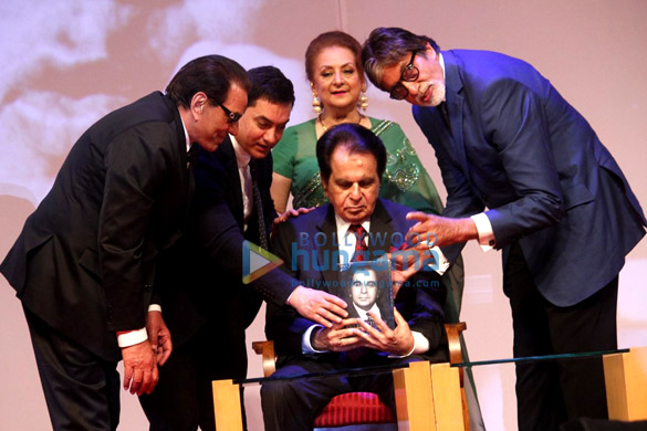 Launch of Dilip Kumar's biography 'The Substance and The Shadow'