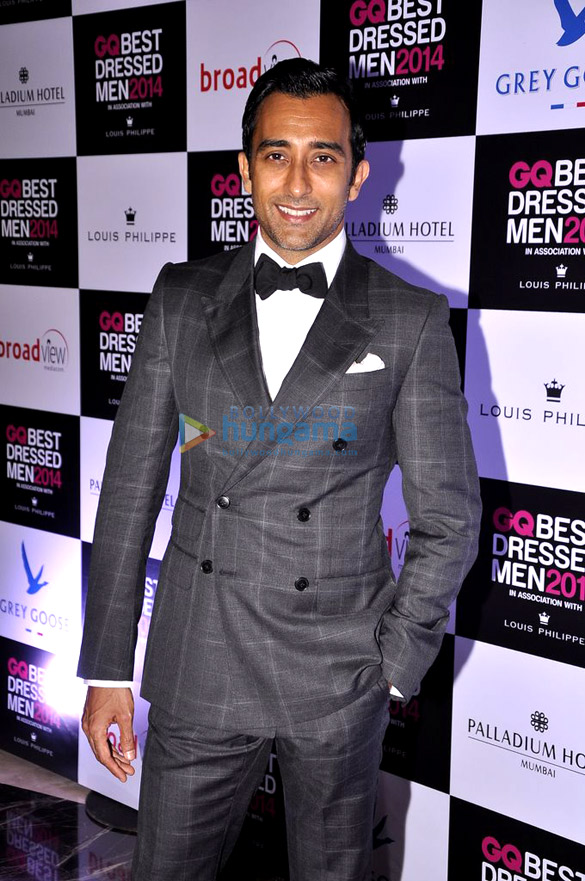 Celebs grace the 'GQ Best Dressed Men 2014' awards