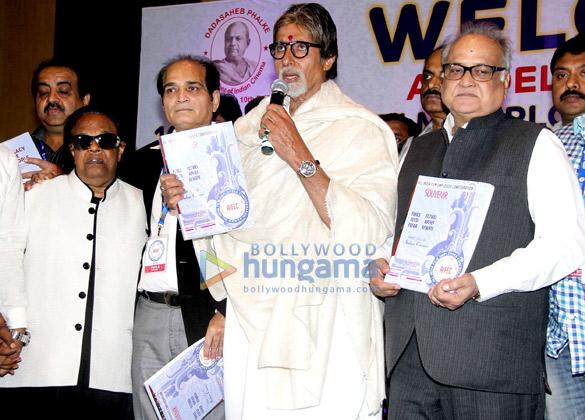 Ravindra Jain, Dharmesh Tiwari, Amitabh Bachchan, T P Agarwal