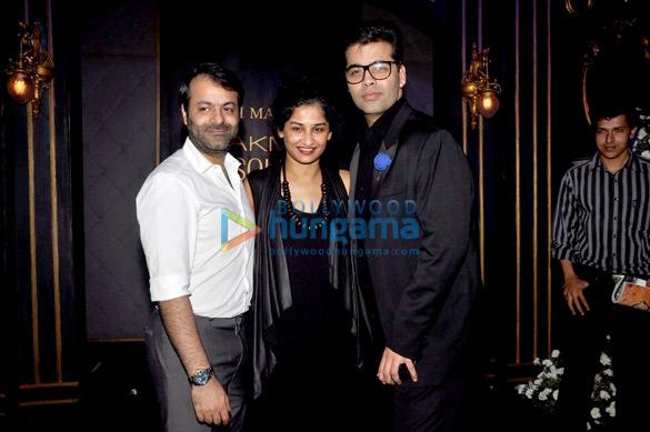 Tarun Mansukhani, Gauri Shinde, Karan Johar