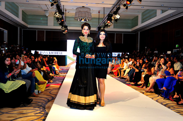 Launch of apparel line MUAAK at the India Fashion Week, Dubai