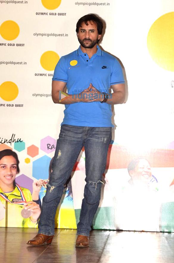 Saif Ali Khan felicitates winners of Asian games
