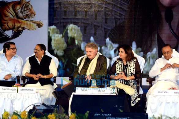 Farah Khan felicitated at the 20th 'Kolkata International Film Festival'