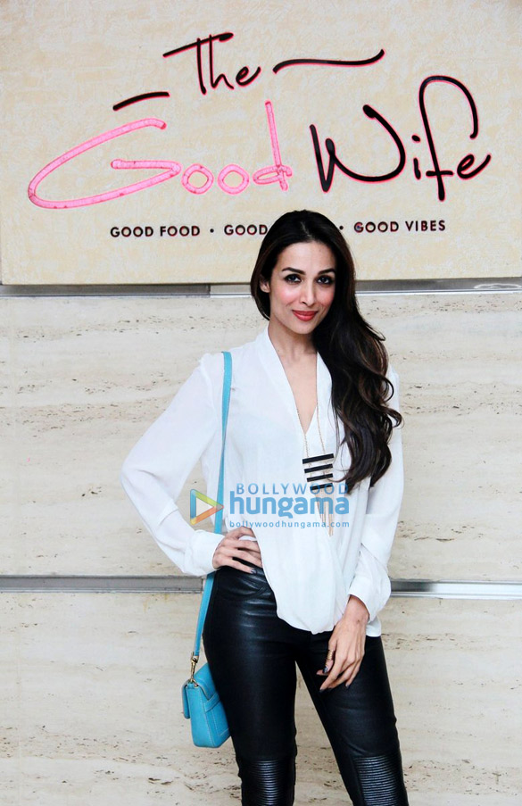 Malaika Arora Khan, Neil Nitin Mukesh & Minissha Lamba at 'The Good Wife Lounge' launch