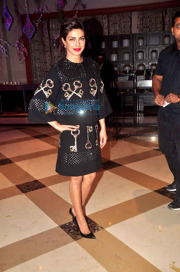 Priyanka Chopra graces the press conference of the '60th Britannia Filmfare Awards 2014′