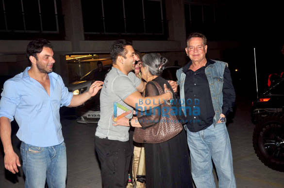 Salman Khan's family celebrates Salma Khan's birthday