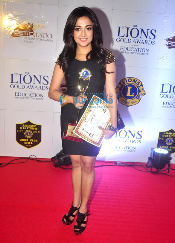 Celebs grace the '21st Lions Gold Awards 2015′