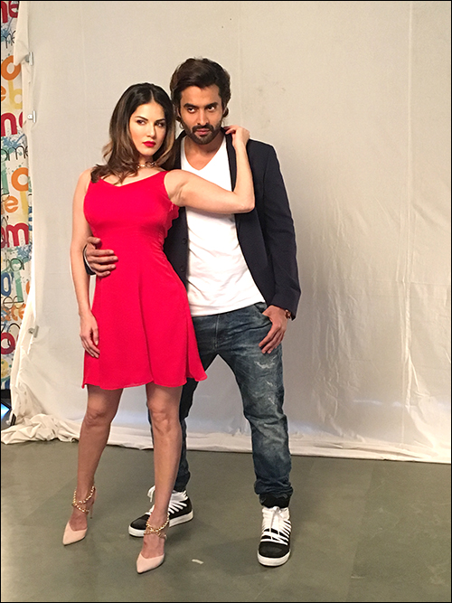 Check out: Sunny Leone, Jackky Bhagnani pair up for ad film