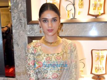 Aditi Rao Hydari at 'P. C. Chandra Jewellers' store launch